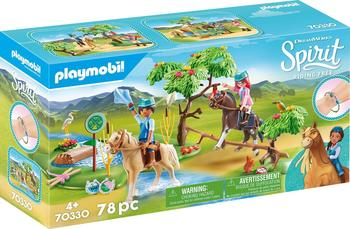 Playmobil Spirit Riding Free Herausforderung am Fluss (70330)