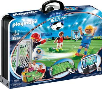 Playmobil Sports & Action Große Fußballarena zum Mitnehmen 70244