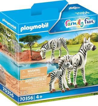 Playmobil Family Fun 2 Zebras mit Baby 70356