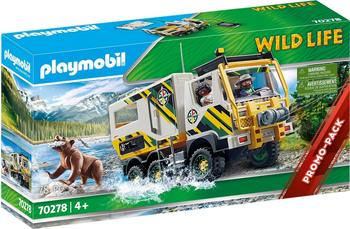 Playmobil Wild life - Expeditionstruck (70278)