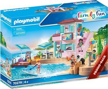Playmobil Family Fun - Eisdiele am Hafen (70279)