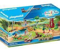Playmobil Family Fun - Erlebnis-Streichelzoo (70342)