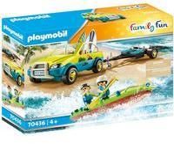 Playmobil Family Fun Strandauto mit Kanuanhänger 70436
