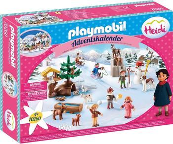 Playmobil Adventskalender Heidis Winterwelt (70260)