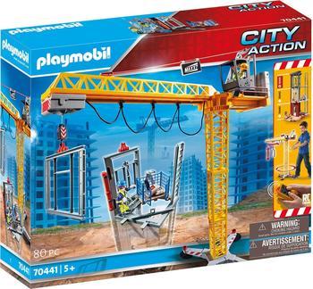 Playmobil City Action - RC-Baukran mit Bauteil (70441)