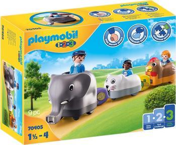 Playmobil 1.2.3 Mein Schiebetierzug 70405