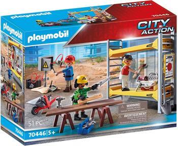 Playmobil City Action Baugerüst mit Handwerkern 70446