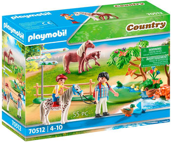 Playmobil Country - Fröhlicher Ponyausflug (70512)