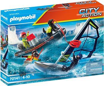 Playmobil City Action Seenot: Polarsegler-Rettung mit Schlauchboot (70141)