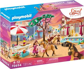 Playmobil Spirit Untamed Miradero Festival (70694)