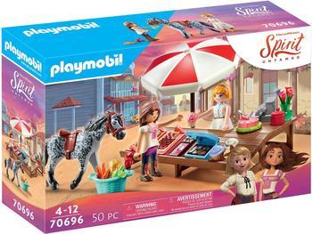 Playmobil Spirit Untamed Miradero Süßigkeitenstand (70696)