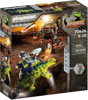 Playmobil Dino Rise Saichania Abwehr des Kampfläufers (70626)