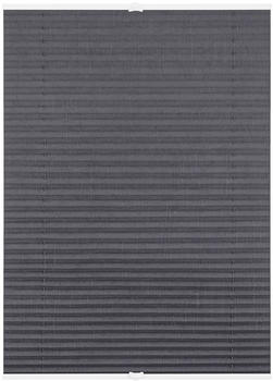 Lichtblick Plissee-Klemmfix Crush-Optik (60 x 130 cm) grau