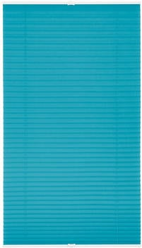 Lichtblick Plissee-Klemmfix Crush-Optik (75 x 130 cm) blau