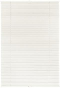 Lichtblick Plissee-Klemmfix Crush-Optik Salvaterra (80 x 210 cm) weiß