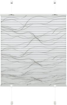 Gardinia Easyfix Katy Welle (50 x 130 cm) weiß