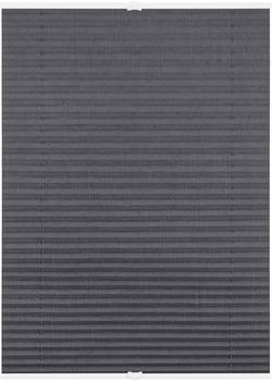 Lichtblick Plissee-Klemmfix Crush-Optik (80 x 210 cm) grau