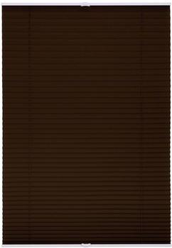 Lichtblick Plissee-Klemmfix Crush-Optik (80 x 210 cm) braun