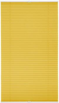 Lichtblick Plissee-Klemmfix Crush-Optik (80 x 210 cm) gelb