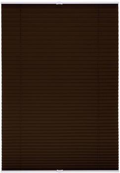 Lichtblick Plissee-Klemmfix Crush-Optik (110 x 130 cm) braun