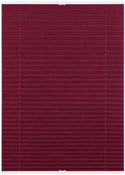 Lichtblick Plissee-Klemmfix Crush-Optik (110 x 130 cm) brombeer