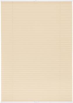 Lichtblick Plissee-Klemmfix Crush-Optik (110 x 130 cm) beige