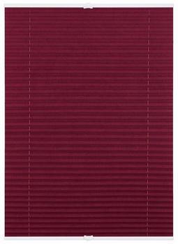 Lichtblick Plissee-Klemmfix Crush-Optik (65 x 130 cm) brombeer