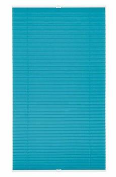 Lichtblick Plissee-Klemmfix Crush-Optik (85 x 130 cm) blau