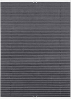 Lichtblick Plissee-Klemmfix Crush-Optik (110 x 130 cm) grau