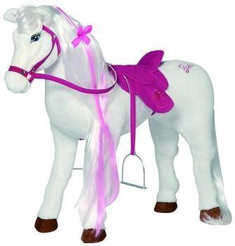 Happy People Barbie Plüschpferd Majesty mit Sound 78 cm