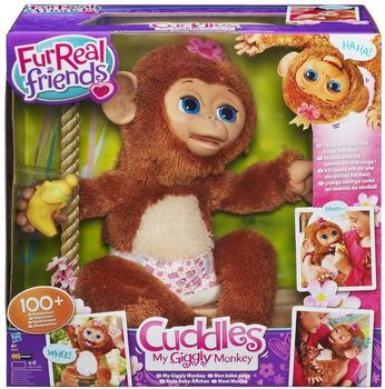 FurReal Friends Emotion Pets Cuddles - Mein Baby Äffchen