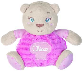 Chicco Kuscheltier Bär, klein rosa