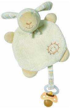 Fehn Baby Love Schmusetuch Schaf Paul mit Schnullerhalter