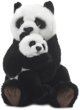 WWF Pandamutter mit Baby 28 cm