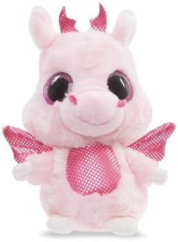 Aurora Yoohoo + Friends Plüschtier Drache Rose pink