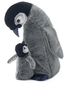 WWF Pinguin Mama und Baby 30 cm