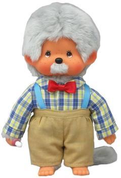 Sekiguchi Monchhichi - Junge als Opa - Großvater - Opi 20cm Puppe
