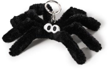 NICI Bean Bag - Schlüsselanhänger Spinne schwarz