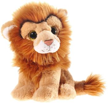 Heunec Löwe mit Glitzeraugen 18 cm