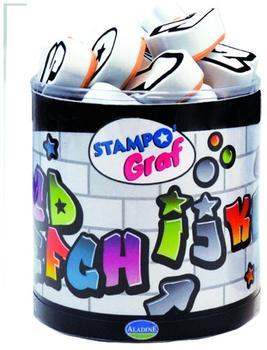AladinE Stampo Alphabet Graffiti