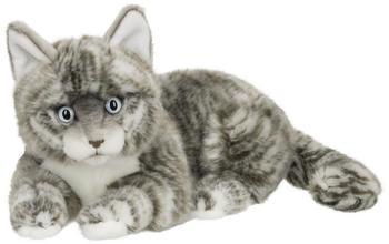 IBTT American Shorthair Katze [liegend, grau] (25cm)