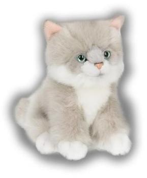 IBTT Ragdoll Katze [sitzend, grau] (15cm)