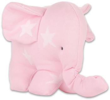 "baby's only Elefant ""Sterne"" rosaweiß"
