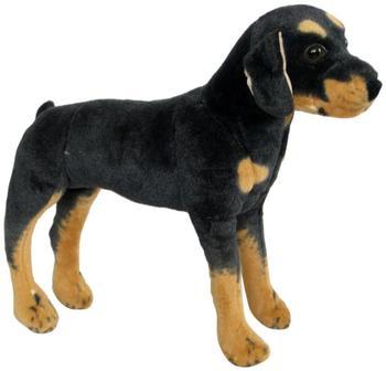 Wagner Stofftiere Hund Rottweiler 1034