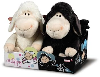"NICI Kuscheltier Set Jolly Mäh ""be happy"" und ""don't worry be happy"""