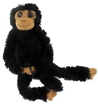 AURORA Stofftier Hängender Affe schwarz