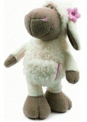 NICI Jolly Mäh Schlenker-Schaf Katie mit Blume 25 cm