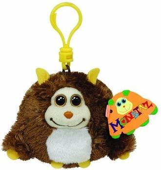 Ty Beanie Clip - Schlüsselanhänger Affe Rocko braun 8 cm