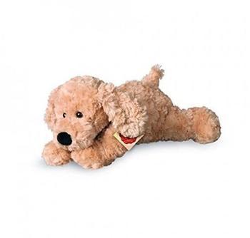 Teddy Hermann Schlenkerhund beige 28 cm