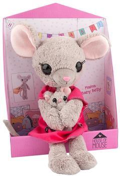 Depesche Mama Maus mit Babybauch, Plüsch, 35 cm, 8878